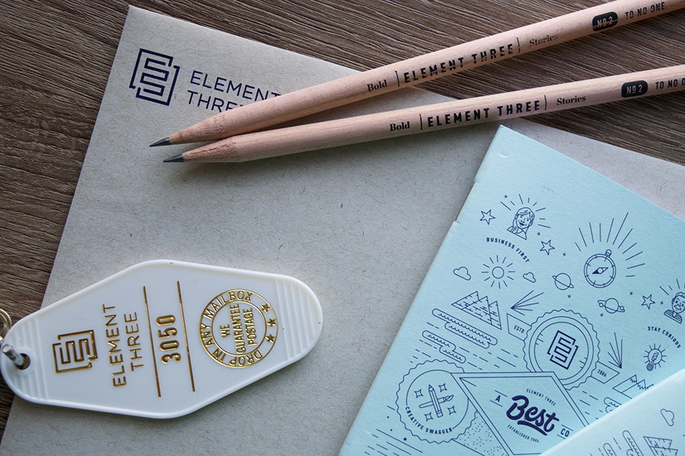 Element Three Agency Onboarding Swag