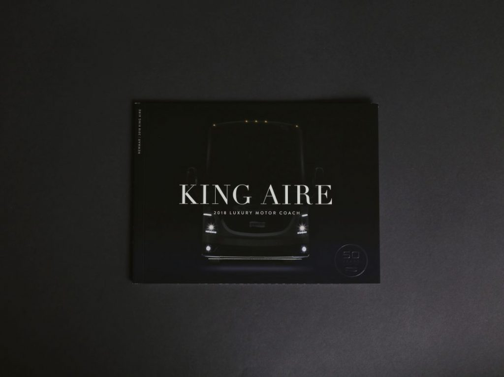 Cover of the Newmar King Aire RV Brochure
