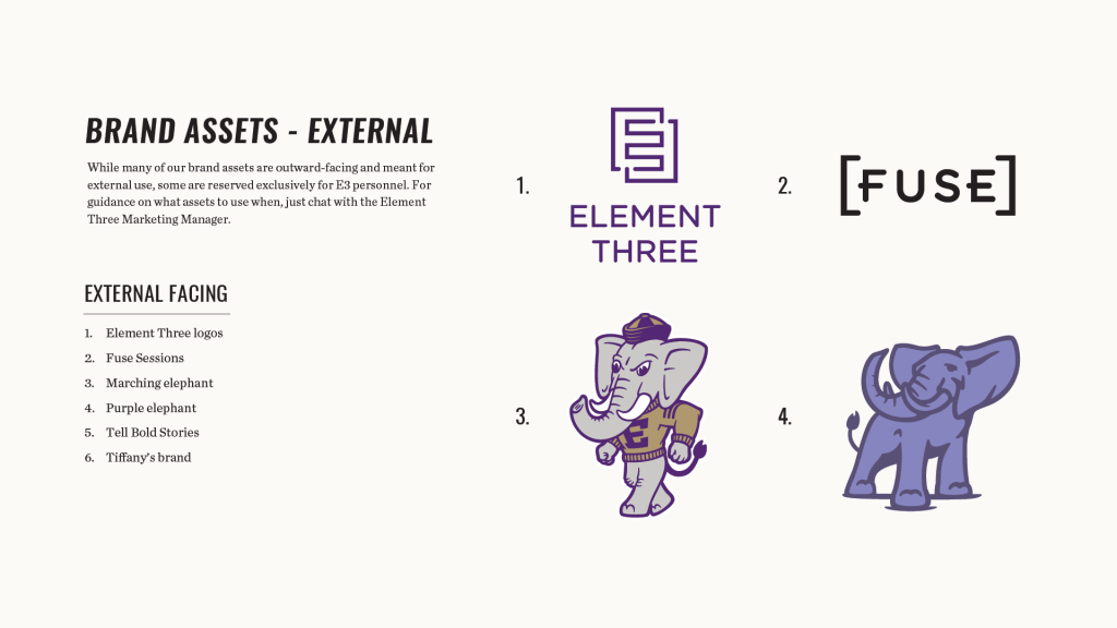 Element Three Brand Assets