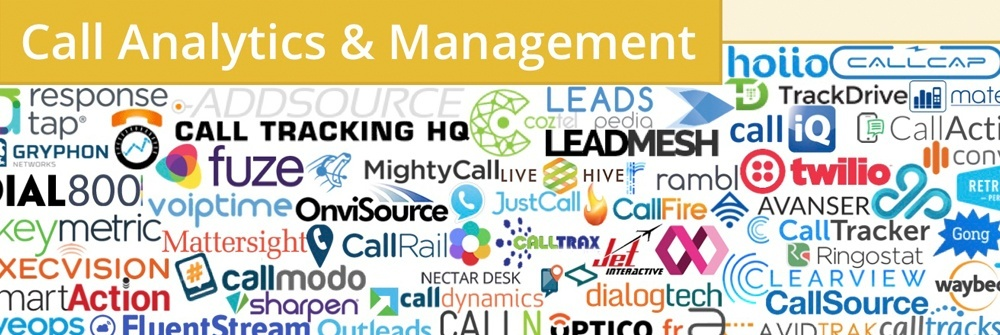martech call analytics and management