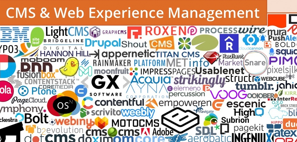 martech cms and web experience