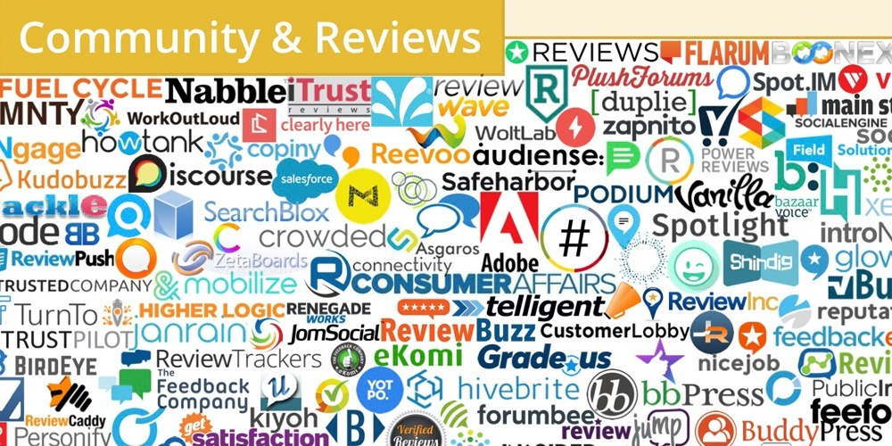 martech community and reviews