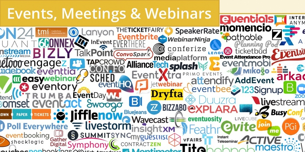 martech events meetings and webinars