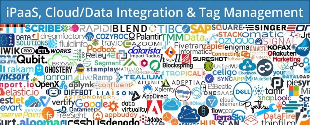 martech ipaas cloud data integration and tag managament