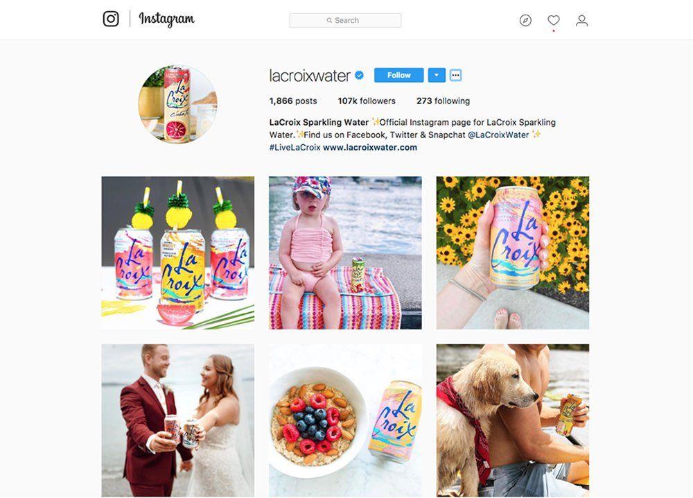 lacroix instagram