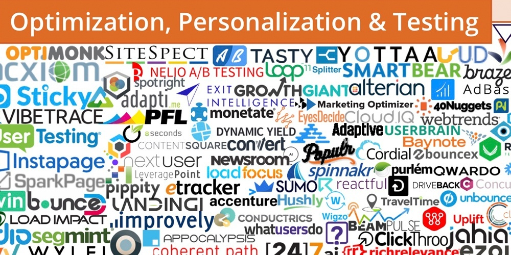 martech optimization personalization and testing