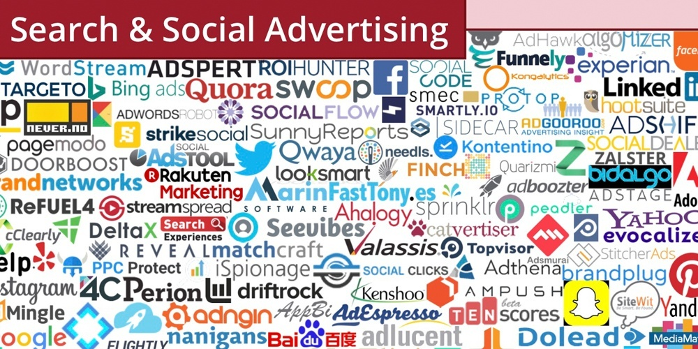 martech search and social advertising