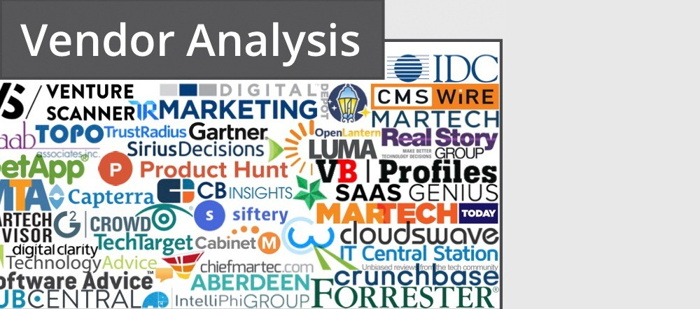 martech vendor analysis