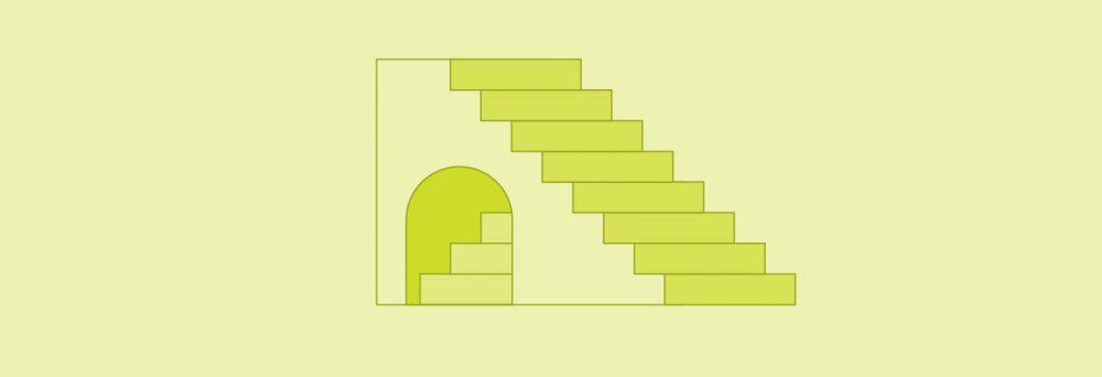 illustration of steps